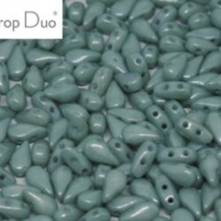 DropDuo - Chalk White Teal Luster - 14459 - 50st