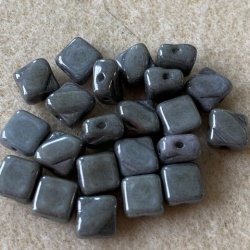 Silky Beads - Grey Luster