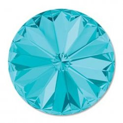 Swarovski 14mm - Light Turquoise Foiled - 1st