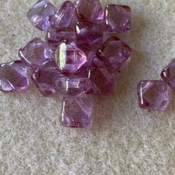 SilkyBeads - Crystal Violet - 20st