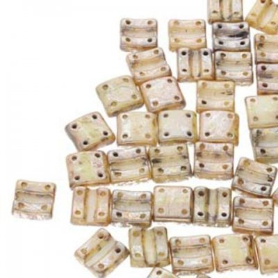 Fixer Beads Vertical Holes - Chalk Rembrandt- 43500 - 13st = ca 5gr