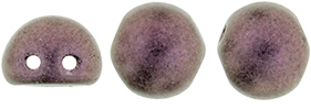 2-hole Cabochon 7mmMetallic Suede Pink 79086MJT