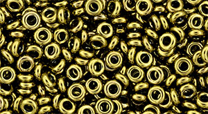 Demi round 8/0 1x3mm Antique Bronze 22